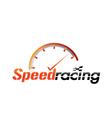 speed racing vector image