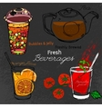 Bubble Tea Hand drawn vector image vector image
