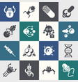 digital smart medical nano robots concept objects vector image vector image