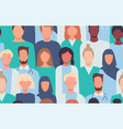 doctors nurses healthcare workers medical staff vector image vector image