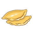 freshly baked pies vector image vector image