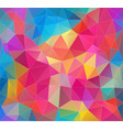 geometric background abstract triangle vector image