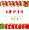 invitation banner for summer party with cute vector image vector image