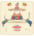 Set of Circus Flat Icons vector image vector image