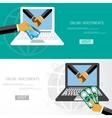 Flat design concepts vector image