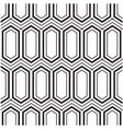 abstract hexagon concentric pattern background vec vector image