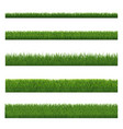 Green grass border and white background