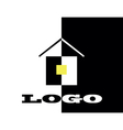 logo hause vector image