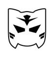 mask superhero icon image vector image vector image