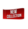 new collection clothing label vector image vector image