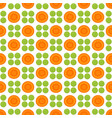 Pattern with peas and carrot