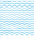 waves brush pattern background vector image vector image