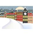Winter Cityscape vector image