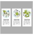 Ecology green technology organic bio