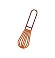 hand mixer kitchen utensil cooking vector image