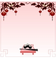 Holiday postcard to Chinese New Year vector image vector image