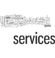 how to choose best services vector image vector image