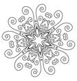 Mandala lace vector image vector image
