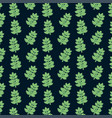 succulent plant seamless pattern vector image vector image