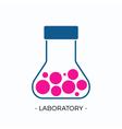 logo for laboratory vector image
