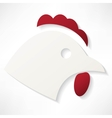 chicken icon vector image vector image