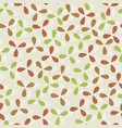 colored three petals seamless pattern vector image vector image