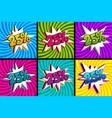comic text 25 percent sale set discount
