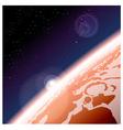 Mars vector image