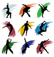 motion people vector image vector image