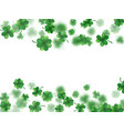 saint patricks day frame eps 10 vector image vector image