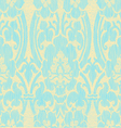 Seamless light abstract striped floral pattern vector image vector image