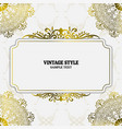 vintage decorations elements and frames vector image