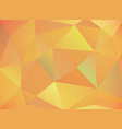 warm autumn colored abstract triangles background vector image vector image