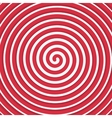 Background Red spiral vector image