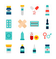 objects medicine pharmacy vector image