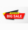sale sticker or tag discount and special vector image vector image