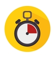 Timer clock icon vector image vector image