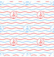 Yacht Seamless Pattern vector image vector image