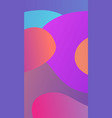 bright trendy gradient style background vector image