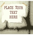 Copy Text Grunge Template vector image vector image