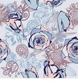 floral seamless texture vector image vector image