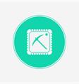 mining cpu icon sign symbol vector image