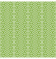 ornament on greenery seamless pattern background vector image vector image