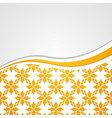 Yellow floral background vector | Price: 1 Credit (USD $1)