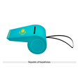 A Whistle of The Republic of Kazakhstan vector image