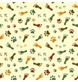 Human and bird feet cat dog paws colorful vector image