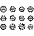 Set award icon for graphic and design studios vector image vector image