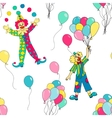 Circus seamless pattern vector image