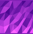 abstract triangular mosaic purple background vector image vector image