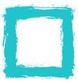blank frame by brushstroke texture vector image